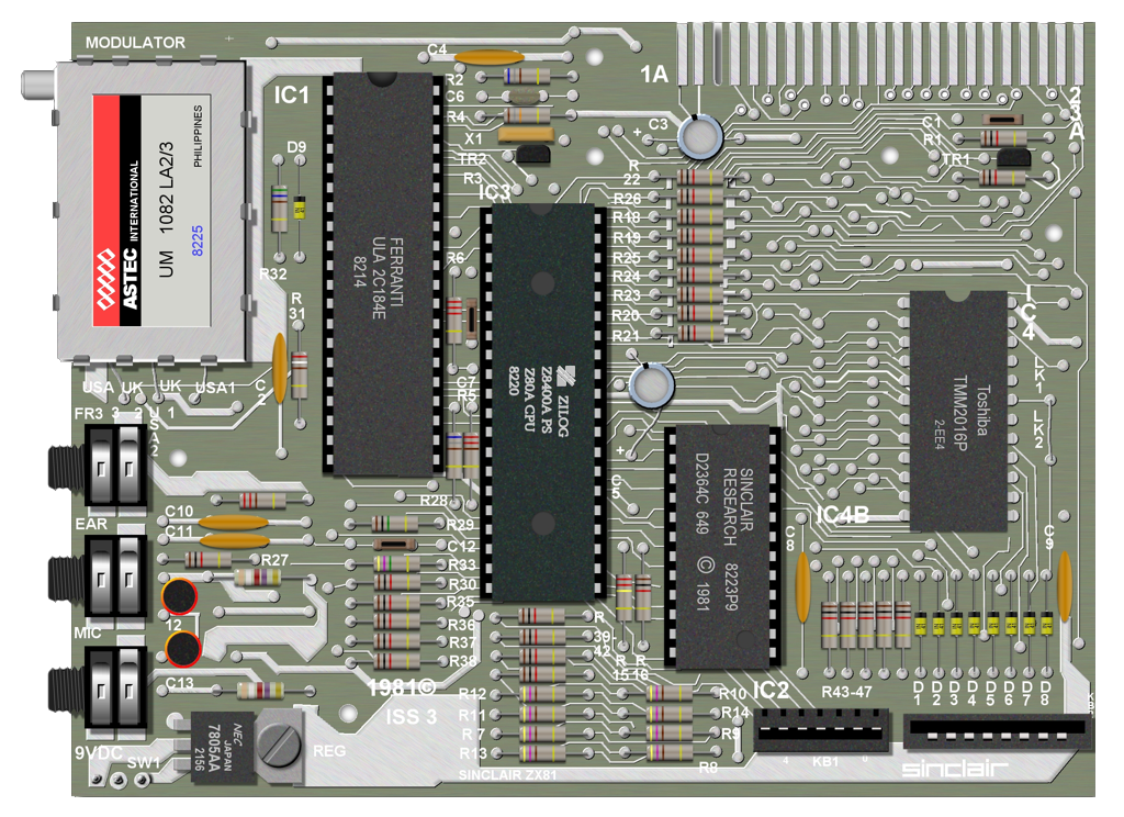 My first computer: Sinclair ZX81 on
